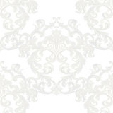 Vector Royal floral damask baroque ornament pattern Royalty Free Stock Images