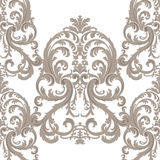 Vector Royal floral damask baroque ornament pattern element Royalty Free Stock Photo