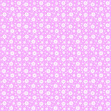 Vector roze bloementextuurpatroon Royalty-vrije Stock Afbeelding