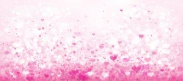 Vector roze bokehachtergrond vector illustratie