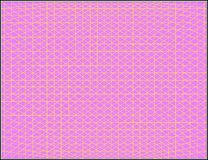 Vector roze vierkanten en driehoekenbehang royalty-vrije illustratie