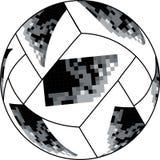 Vector ruso de la bola del mundial del Fifa stock de ilustración