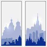 Vector Russia vertical banners Royalty Free Stock Photography