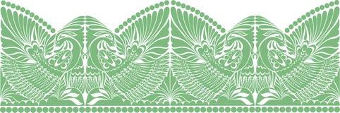 Vector russian ornament.   folklore ornament withe bird. Vector russian ornament. traditional  folklore ornament withe bird Royalty Free Stock Photography