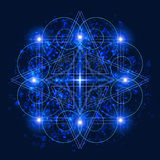 Vector Sacred Geometry vector illustration