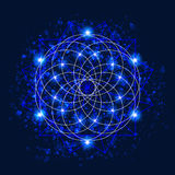 Vector Sacred Geometry stock illustration