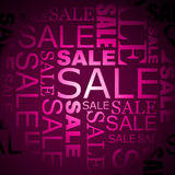 Vector sale background Stock Photography