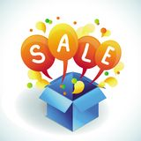 Vector sale banner Stock Photo