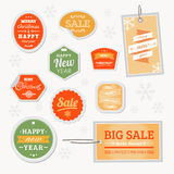 Vector Sale Christmas Royalty Free Stock Image