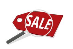 Vector Sale discount business cheap percentage manify concept Royalty Free Stock Photo