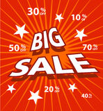 Vector sale labels Royalty Free Stock Photo