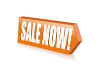 Vector sale now button royalty free stock photo