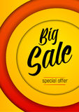 Vector sale promo Royalty Free Stock Image