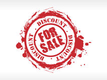 Vector sale rubber stamp Royalty Free Stock Photography
