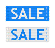 Vector sale signs Royalty Free Stock Photo