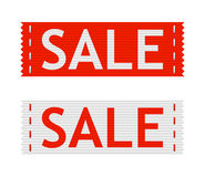 Vector sale signs Stock Image