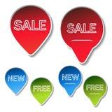 Vector sale sticker Stock Photo