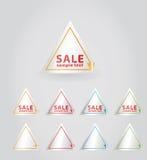 Vector sale sticker.. Royalty Free Stock Photos