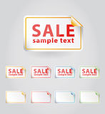 Vector sale sticker.. Royalty Free Stock Photo