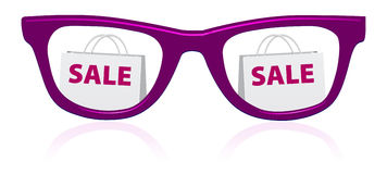 Vector sale sunglasses icon Stock Photography