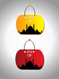 Vector sale tag. Abstract background with set of sale tag Royalty Free Stock Images