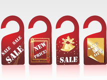 vector sale tag Stock Photo