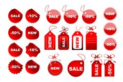 Free Vector Sale Tags Stock Photo - 11674500