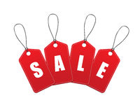 Vector Sale Tags / Labels Royalty Free Stock Images