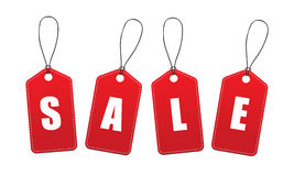 Vector Sale Tags / Labels Stock Image