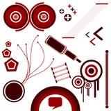Vector - Samenvatting 1 stock illustratie