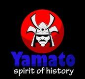 Vector samurai mask. Royalty Free Stock Photos