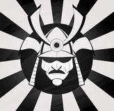 Vector samurai mask Royalty Free Stock Photo