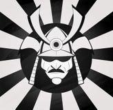Vector samurai mask Royalty Free Stock Photo