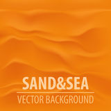 Vector sand summer travel background Stock Photos