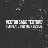 Vector Sand Texture Template stock photography