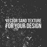 Vector Sand Texture for Your Design royalty free stock images