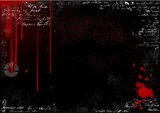 Vector sangriento del fondo Foto de archivo