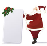 Vector Santa Royalty Free Stock Photo