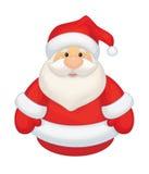 Vector Santa Claus cartoon isolated. Royalty Free Stock Photo