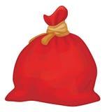 Vector Santa Claus full sack. Royalty Free Stock Images