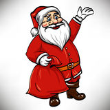 Vector santa claus Royalty Free Stock Photo