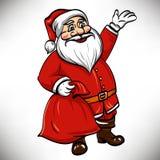 Vector santa claus Royalty Free Stock Photo