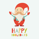 Vector Santa Claus Stock Photography