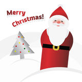 Vector Santa Claus Royalty Free Stock Photography