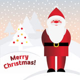 Vector Santa Claus Royalty Free Stock Images
