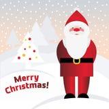 Vector Santa Claus Royalty Free Stock Images