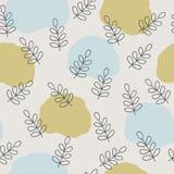 Vector Scandinavian Nature Pattern Design. vector illustration