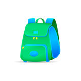 Vector school bag isolated on white background Stock Photos