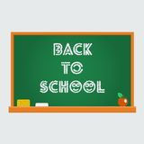 Vector school blackboard Stock Photo
