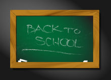 Vector school blackboard illustration Stock Photo